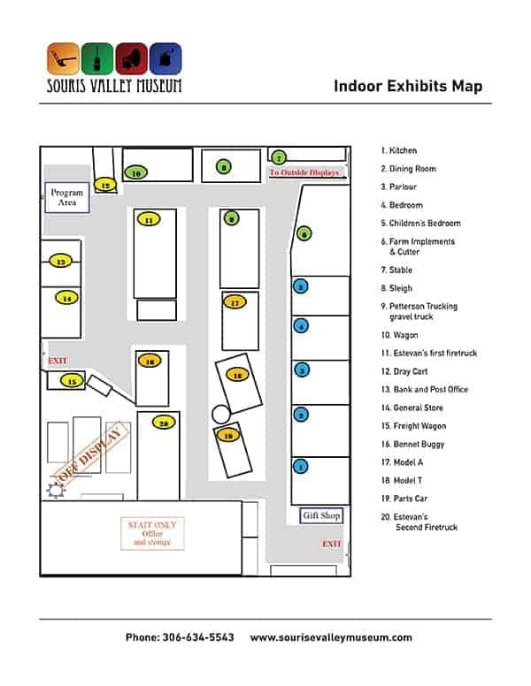 Indoor Exhibit Map