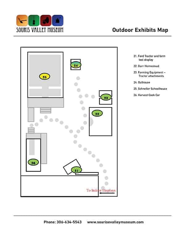Outdoor Exhibit Map